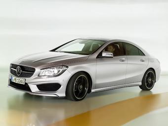 Российские продажи Mercedes-Benz CLA начнутся в апреле