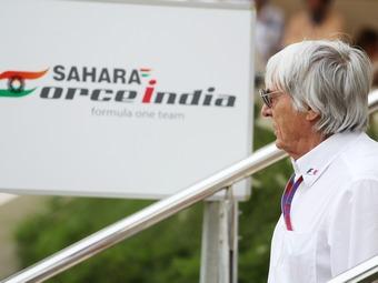 Спасением Force India займется Берни Экклстоун