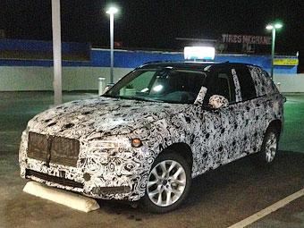 Фотошпионы увидели на тестах большой внедорожник BMW