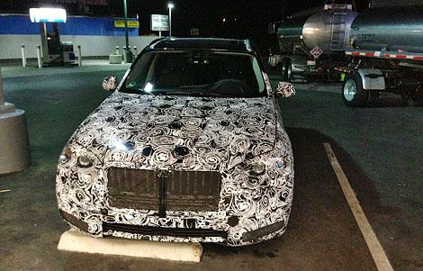 Модель составит конкуренцию Mercedes-Benz GL и Audi Q7. Фото 1