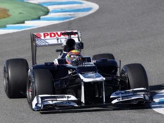 Команда Williams начнет тесты с прошлогодним болидом