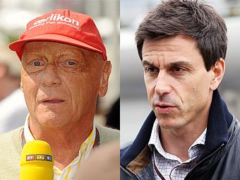 Лауда и Вольфф станут совладельцами Mercedes AMG