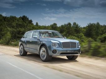 Внедорожник Bentley сделают непохожим на прошлогодний концепт-кар