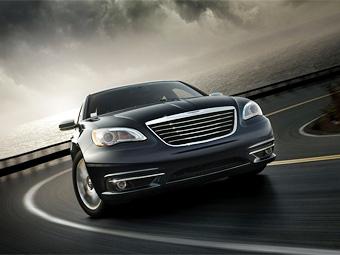 Chrysler опробует новый дизайн на среднеразмерном седане