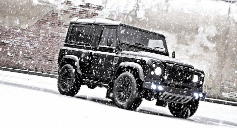Тюнинг-ателье Kahn Design представило Land Rover Defender Winter Edition