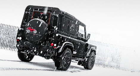 Тюнинг-ателье Kahn Design представило Land Rover Defender Winter Edition. Фото 1