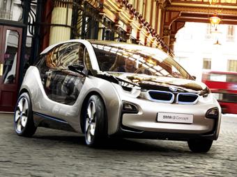 Мотор от мотоцикла сделает электрокар BMW дальнобойным
