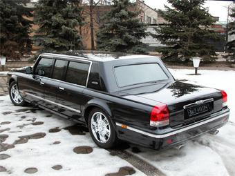 Минпромторг подтвердил появление гражданской версии президентского лимузина