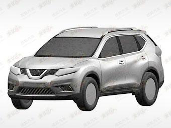 В Сети появились изображения нового Nissan X-Trail