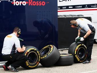 Новые шины Формулы-1 стали быстрее на полсекунды