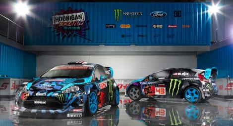 Дизайн машин навеян граффити в стиле скейтборд-культуры