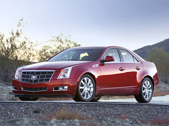 Премьера нового Cadillac CTS состоится через два месяца