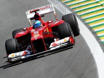 Алонсо пропустит первые тесты нового болида Ferrari
