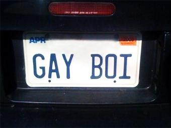 Гей в США подал на чиновников в суд за отказ выдать особый номерной знак