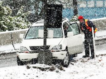 Количество ДТП из-за неисправных машин в 2012 году увеличилось на четверть