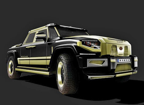 Модель получит отделку кузова золотом и бриллиантами