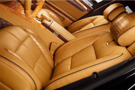 Модель получит отделку кузова золотом и бриллиантами. Фото 2