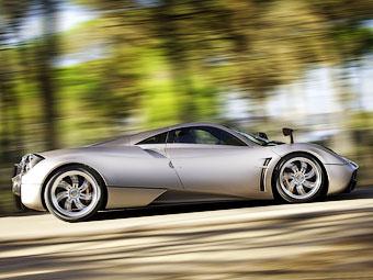 Суперкар Pagani Huayra установил рекорд трека Top Gear