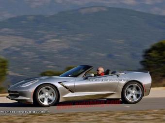 Chevrolet покажет открытую версию нового Corvette в Женеве