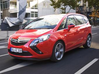 """Opel сделал из """"Зафиры"""" самый быстрый дизельный минивэн"""