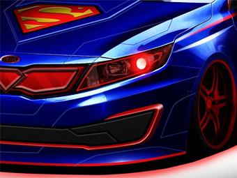 Kia создаст машину для Супермена