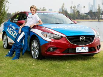Mazda устроит на Гран-при Австралии Формулы-1 гонку звезд