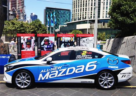Двадцать знаменитостей будут ездить на дизельных Mazda6
