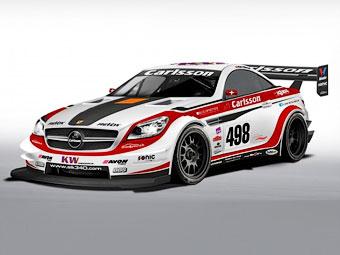 В гонке Pikes Peak примет участие 610-сильный Mercedes-Benz SLK