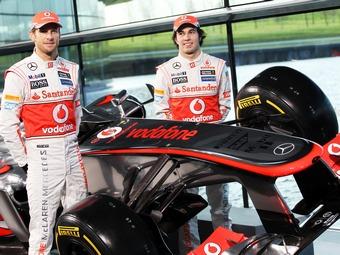 Команда Формулы-1 McLaren представила новый болид