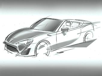 """""""Тойота"""" покажет родстер GT 86 в Женеве"""