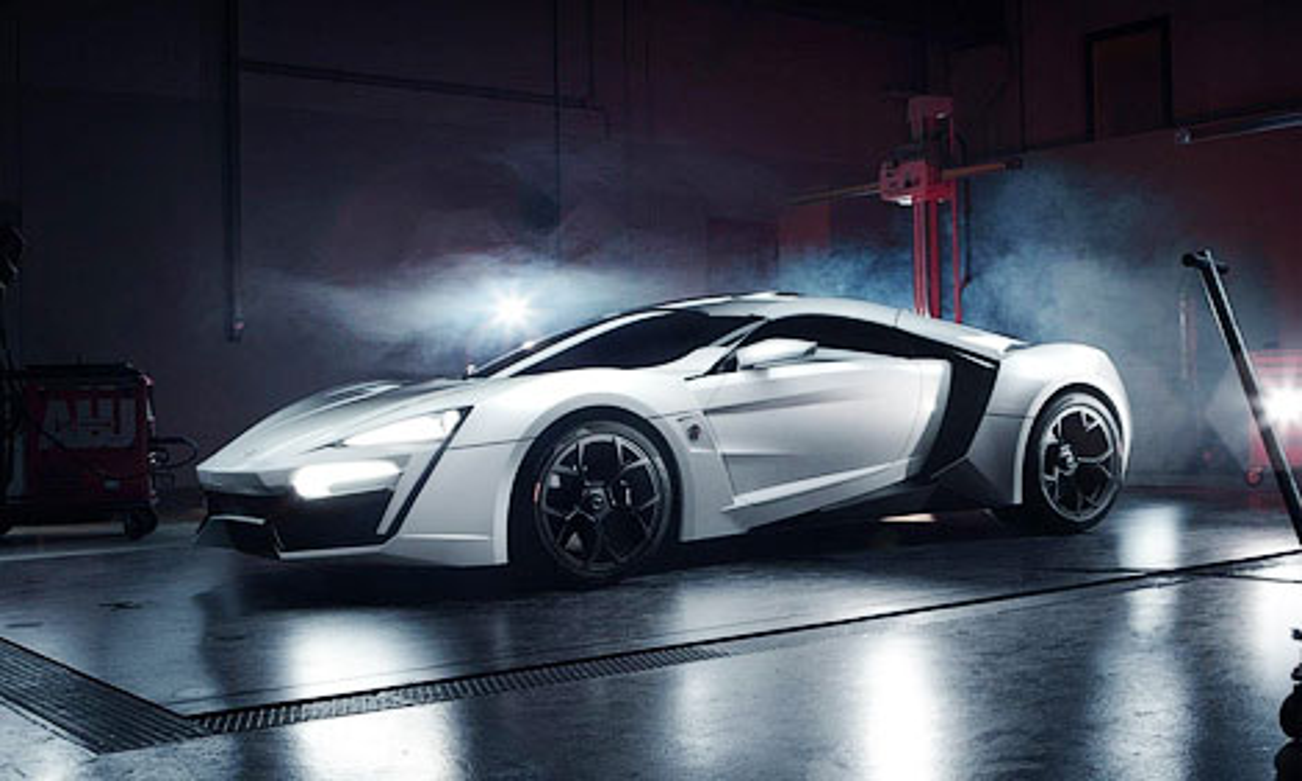 Шейх приобрел 750-сильное купе за 3,5 миллиона долларов. Фото 2