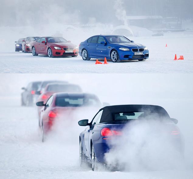 Чему учат в зимней школе бесконечных скольжений BMW Driving Experience. Фото 3