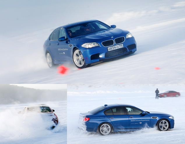 Чему учат в зимней школе бесконечных скольжений BMW Driving Experience. Фото 5