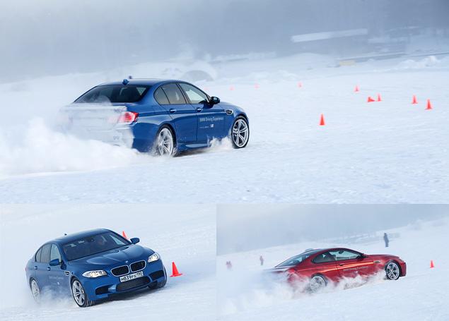 Чему учат в зимней школе бесконечных скольжений BMW Driving Experience. Фото 8