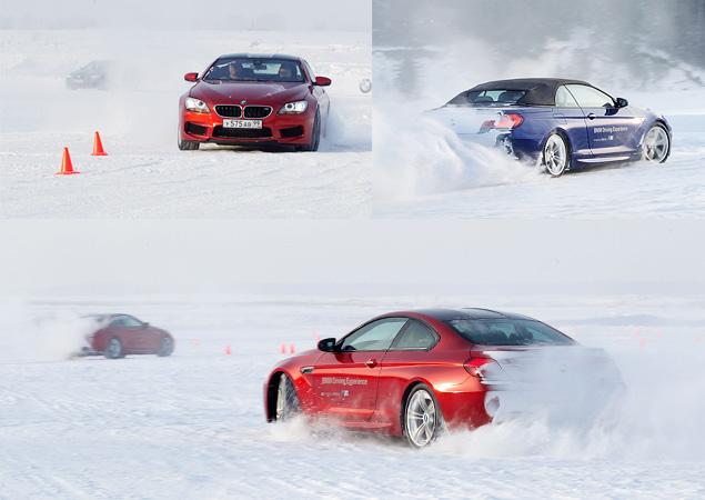 Чему учат в зимней школе бесконечных скольжений BMW Driving Experience. Фото 10