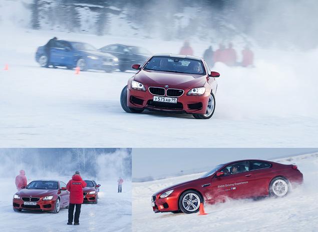 Чему учат в зимней школе бесконечных скольжений BMW Driving Experience. Фото 11