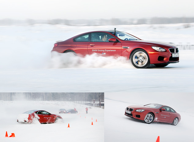Чему учат в зимней школе бесконечных скольжений BMW Driving Experience. Фото 15