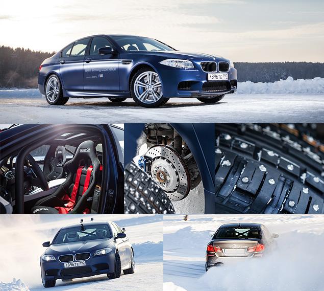 Чему учат в зимней школе бесконечных скольжений BMW Driving Experience. Фото 21