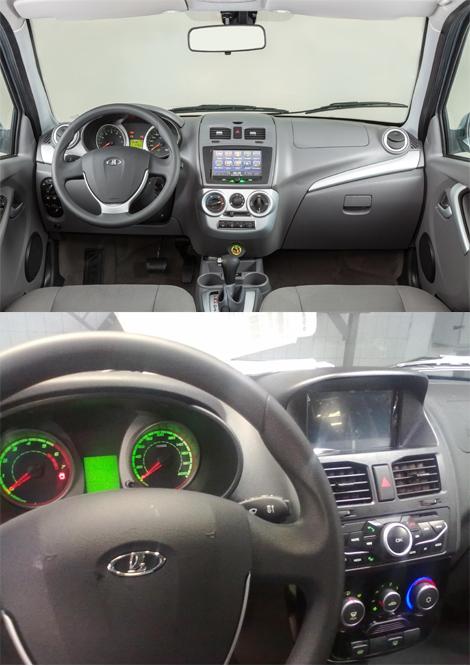 Модель получила ряд изменений передней и приборной панелей