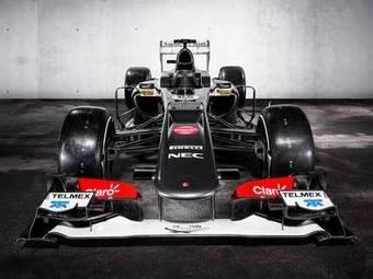 Новый автомобиль команды Sauber получил сверхтонкие стенки понтонов