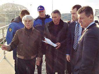Сочинскую трассу для Формулы-1 построили на 50 процентов
