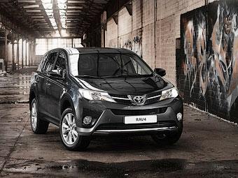 Стали известны рублевые цены на новый Toyota RAV4