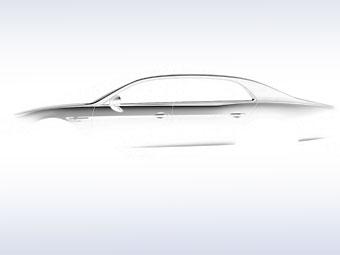 Bentley обновит седан Flying Spur