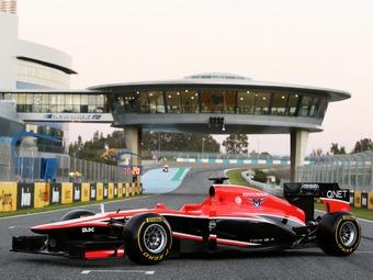 Болид команды Marussia получил систему KERS