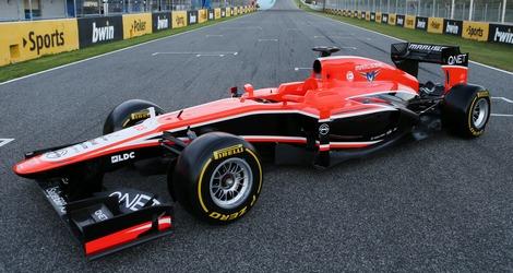 Российская конюшня Формулы-1 представила автомобиль MR02 для гонок 2013 года