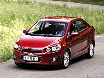 """""""ГАЗ"""" приступил к сборке седана Chevrolet Aveo"""