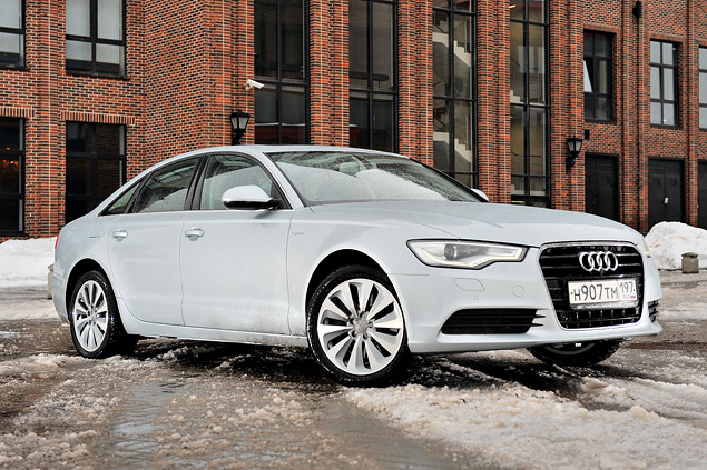 Длительный тест гибридного седана Audi A6: часть первая