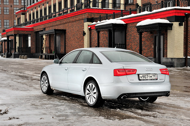 Длительный тест гибридного седана Audi A6: часть первая. Фото 4