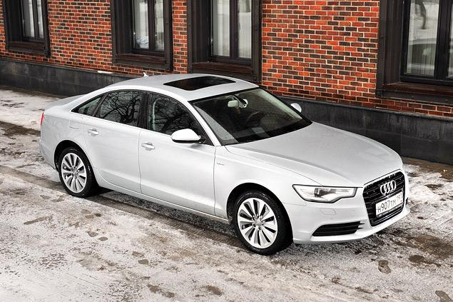 Длительный тест гибридного седана Audi A6: часть первая. Фото 5