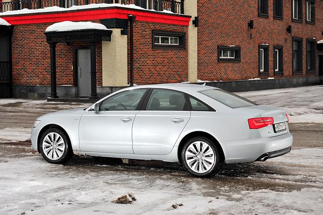 Длительный тест гибридного седана Audi A6: часть первая. Фото 7